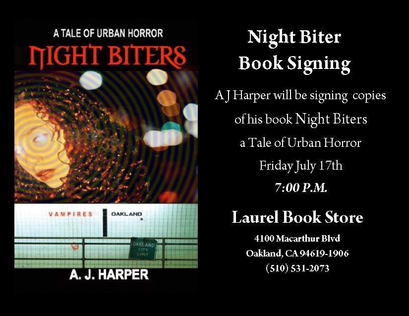 Night Biters Book Signing