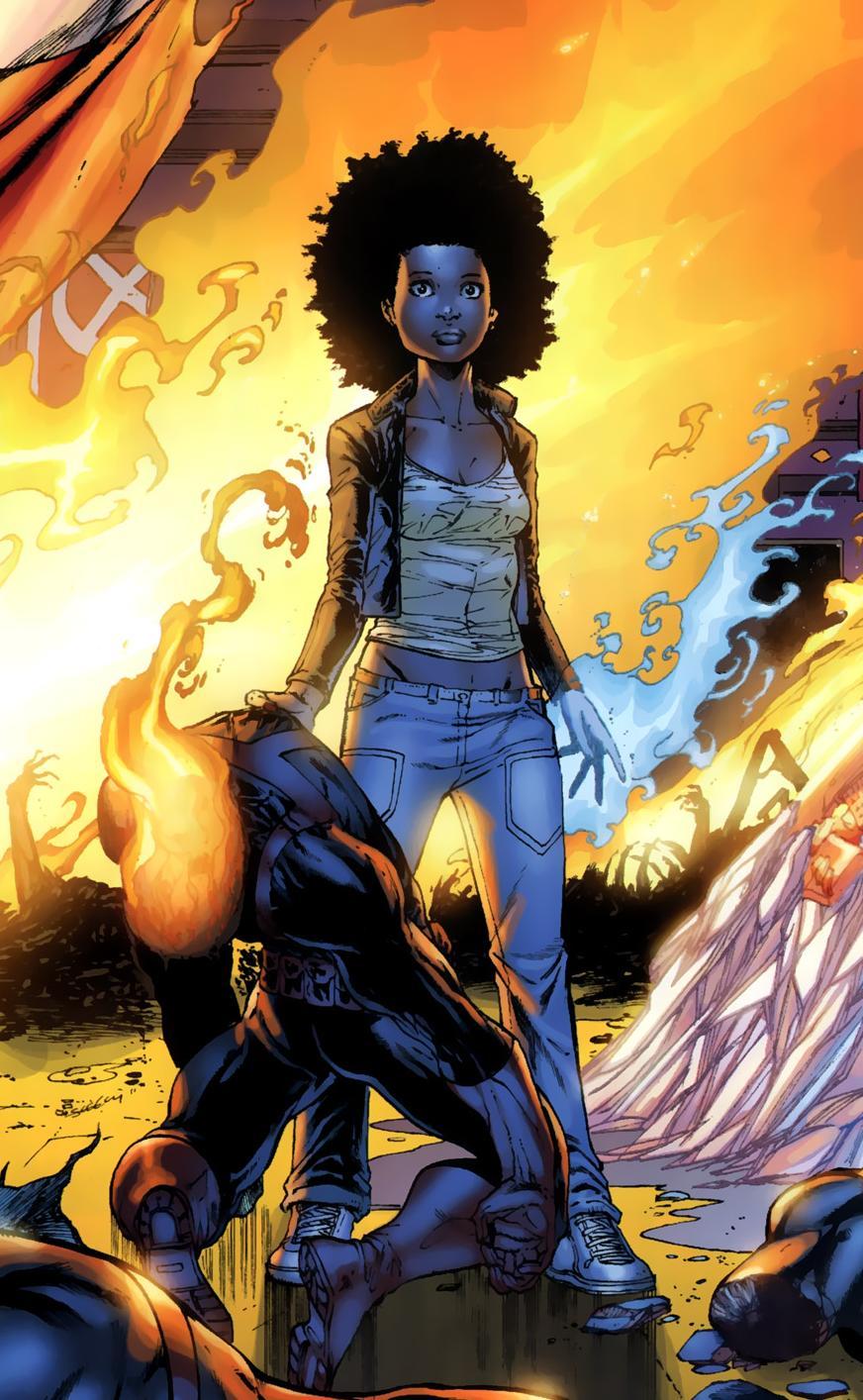 super heroes black woman Marvel
