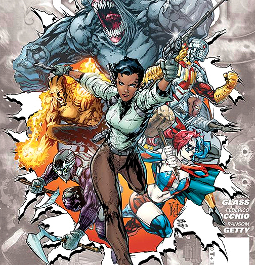 Amanda Waller Suicide Squad Team 7 new DC 52