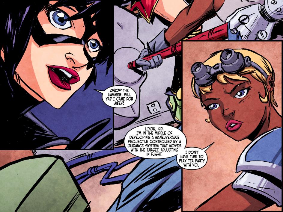 Ame-Comi Batgirl #3